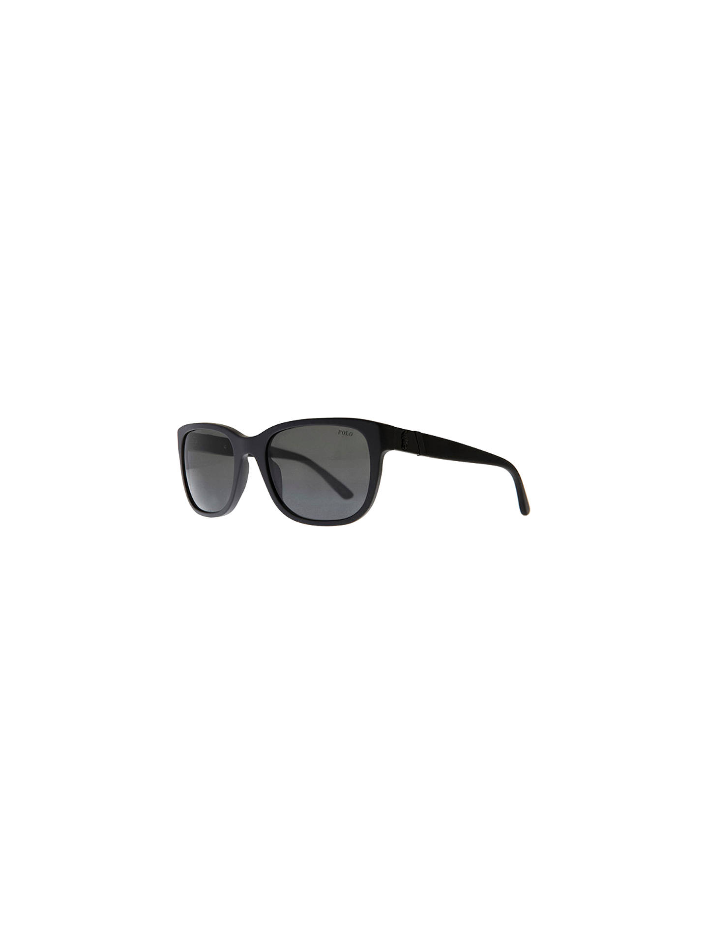 403d8af7fb67 Buy Polo Ralph Lauren PH3066 Pony Player Sunglasses, Matte Black Online at  johnlewis.com ...