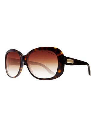 Ralph Lauren RL8087 Sunglasses, Dark Havana