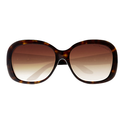 Buy Ralph Lauren RL8087 Sunglasses, Dark Havana Online at johnlewis.com