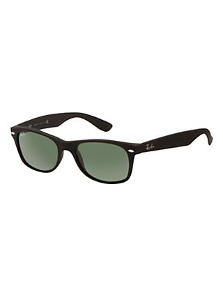 Ray-Ban RB2132 New Wayfarer Sunglasses, Black