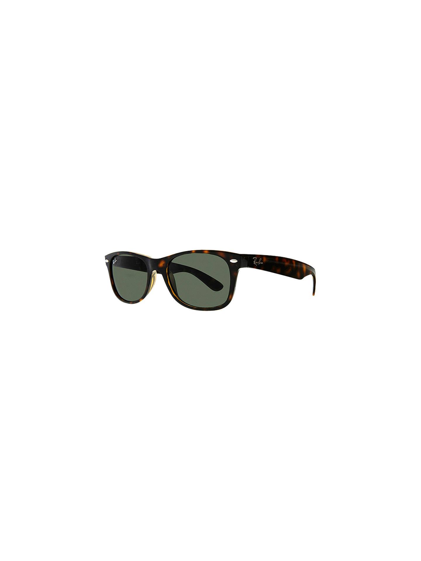 8653b96e29 Ray-Ban RB2132 New Wayfarer Oval Sunglasses at John Lewis   Partners