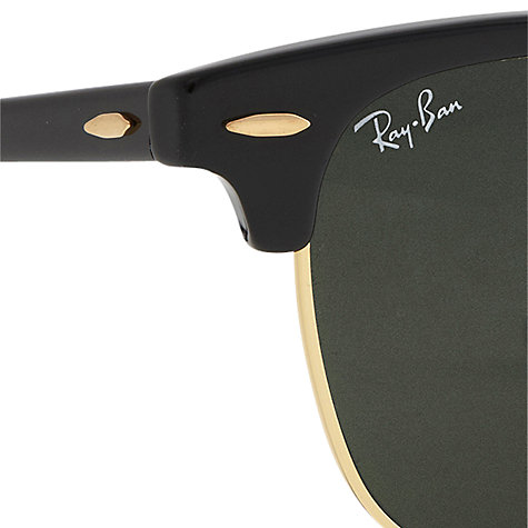 john lewis mens ray ban sunglasses  buy ray ban rb3016 classic clubmaster sunglasses online at johnlewis