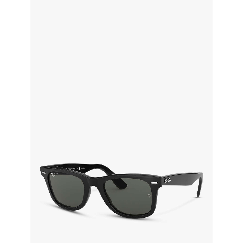 6bbabc35be ... discount 2019 outlet d4c13 e7baa buyray ban rb2140 polarised wayfarer  sunglasses black online at johnlewis 48ac2