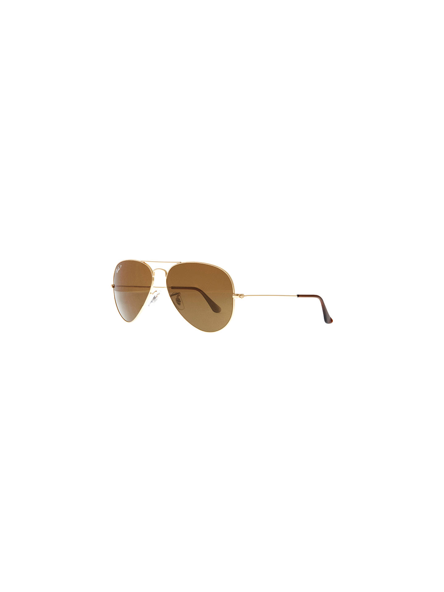 d462f4c94a Ray-Ban RB3025 Iconic Aviator Sunglasses at John Lewis   Partners