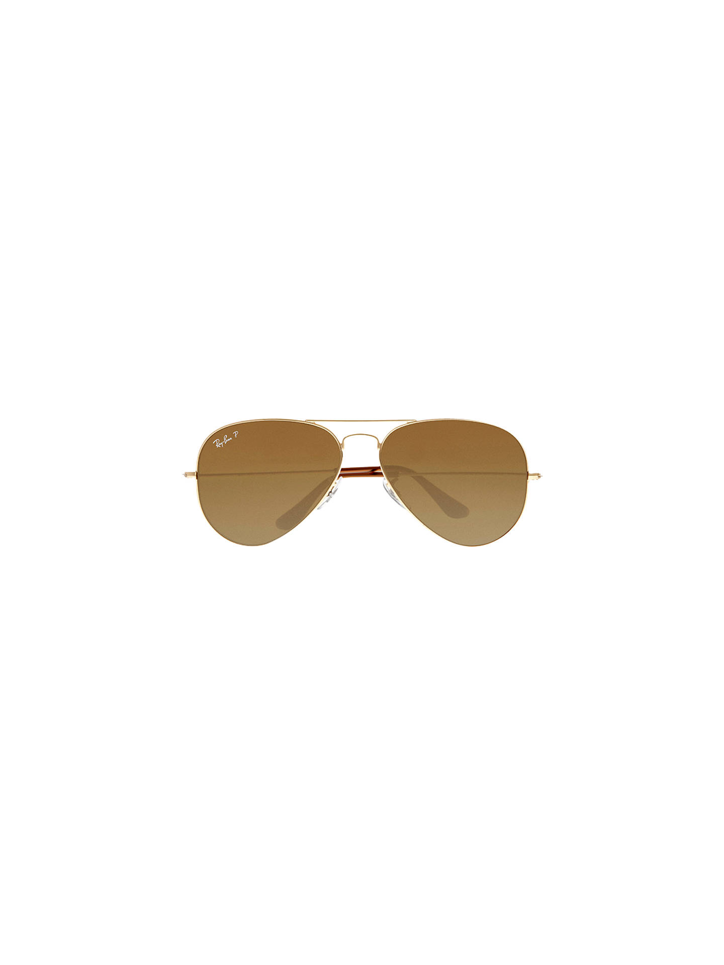 30dc2ff8dd Ray-Ban RB3025 Iconic Aviator Sunglasses at John Lewis   Partners