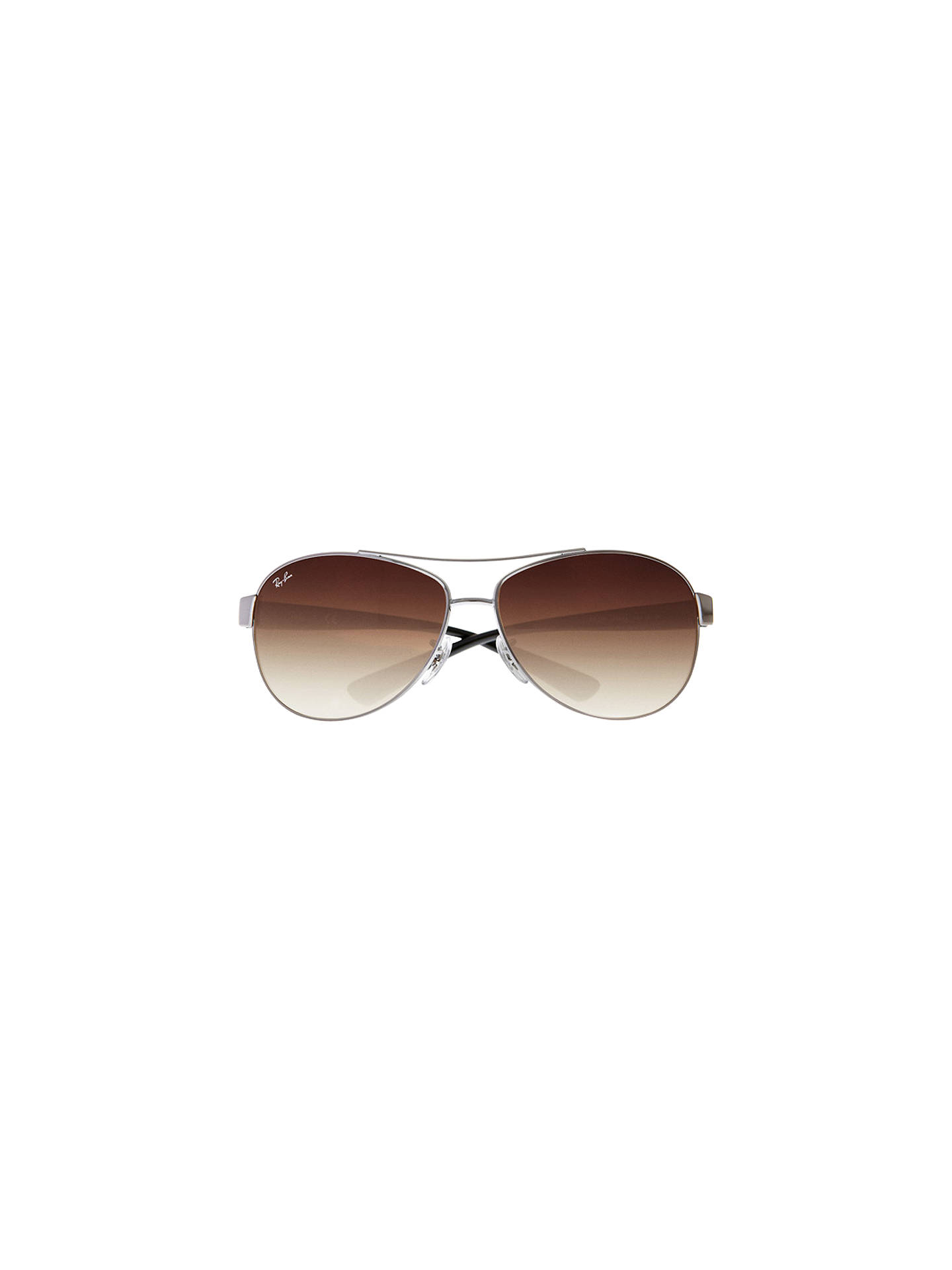 BuyRay-Ban RB3386 Aviator Sunglasses, Gunmetal Online at johnlewis.com