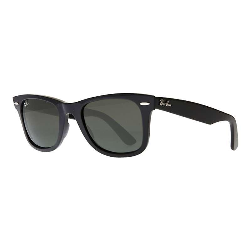 famiglia reale Subtropicale ubriaco  Ray-Ban RB2140 Original Wayfarer Sunglasses, Black at John Lewis & Partners