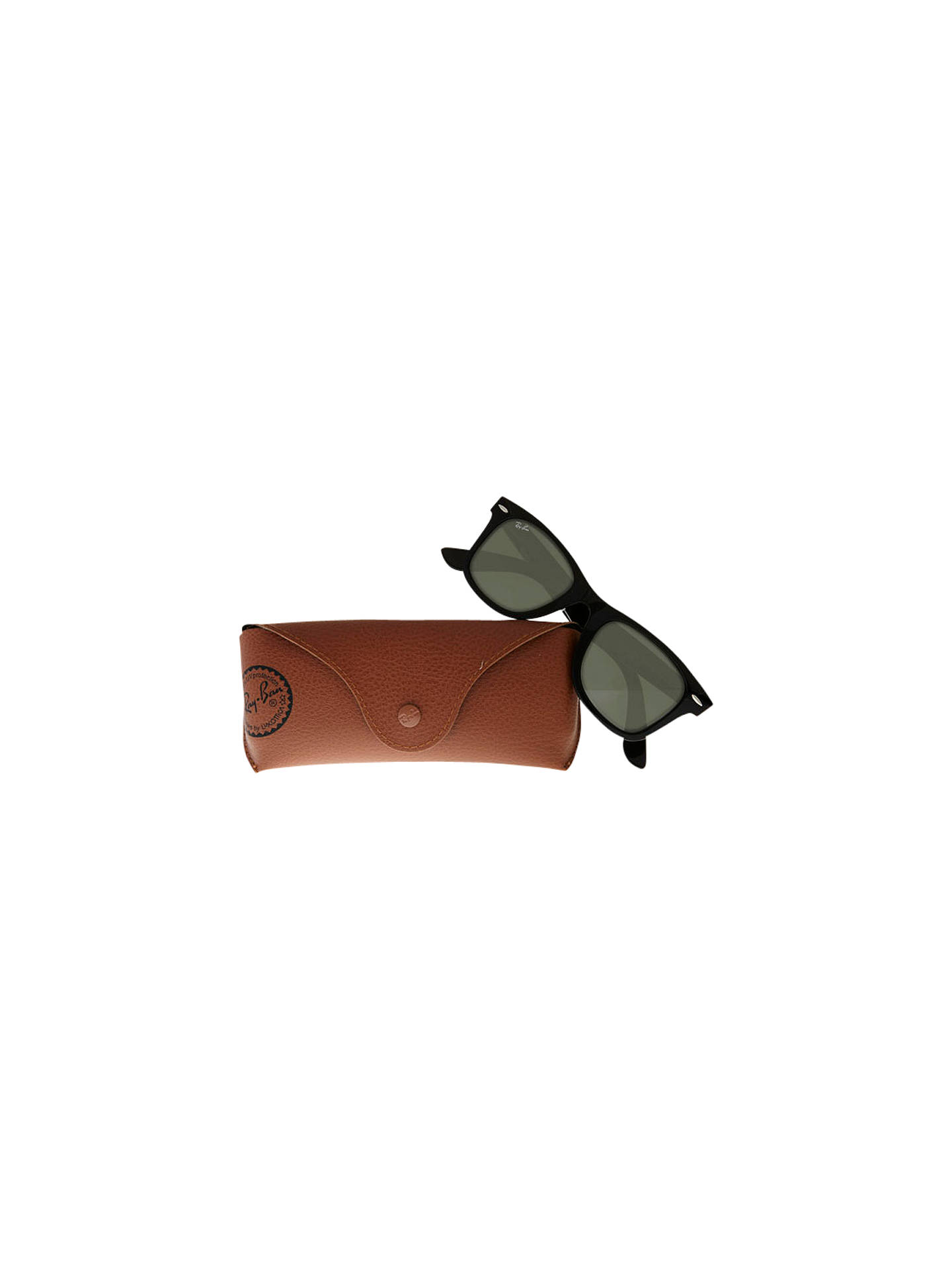 Buy Ray-Ban RB2140 Original Wayfarer Sunglasses, Black Online at johnlewis.com