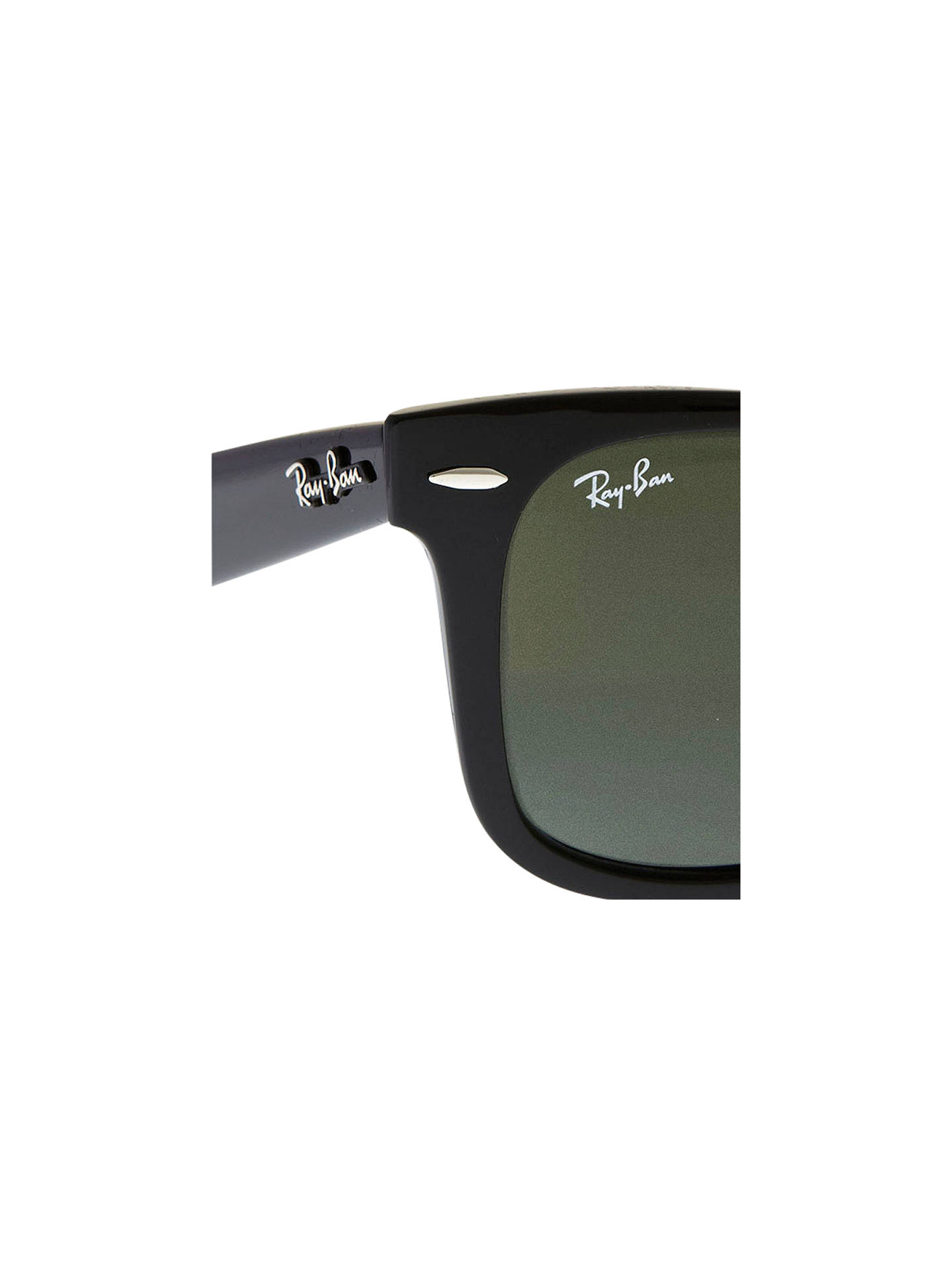 e6691aa6a7 Ray-Ban RB2140 Original Wayfarer Sunglasses at John Lewis   Partners