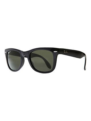 095400b6ba Ray-Ban RB4105 Wayfarer Folding Polarised Sunglasses