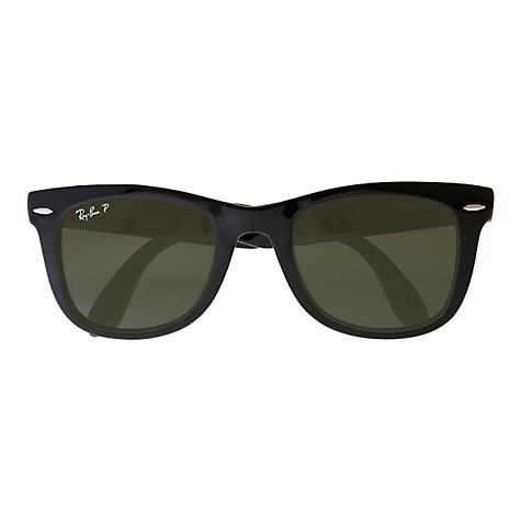 Buy Ray-Ban RB4105 Wayfarer Folding Sunglasses Online at johnlewis.com