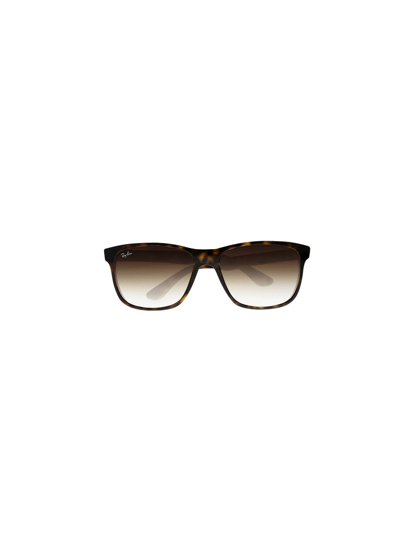 a866af100d new zealand buyray ban rb4181 highstreet square sunglasses havana brown  gradient online at johnlewis. f2a60