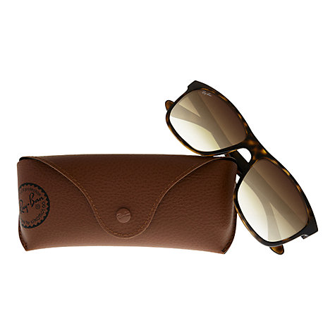 Buy Ray-Ban RB4181 Highstreet Square Sunglasses Online at johnlewis.com