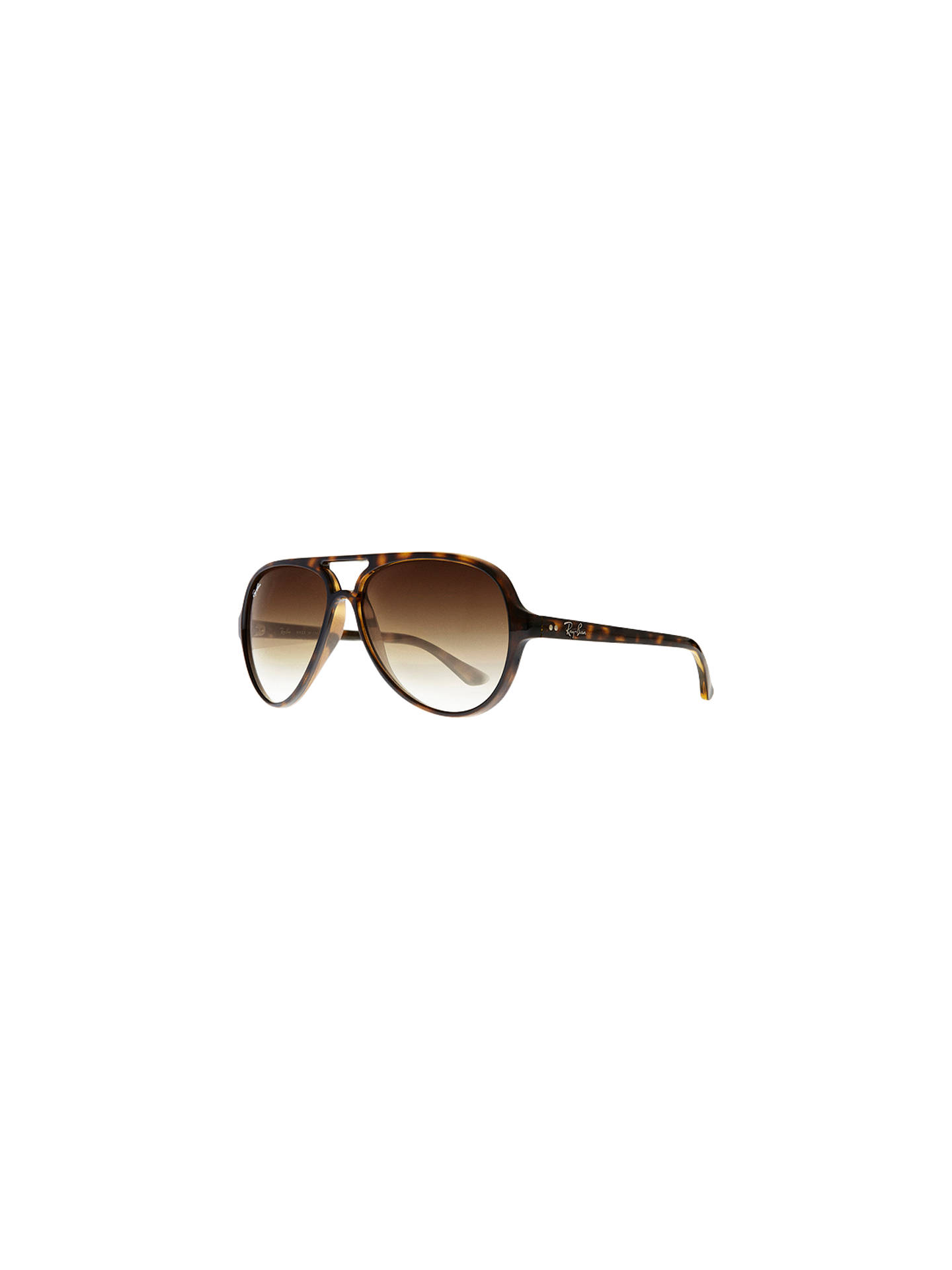 7ce2f3d9bb8f2b BuyRay-Ban RB4125 Cats 5000 Aviator Sunglasses, Light Havana Online at  johnlewis.com ...