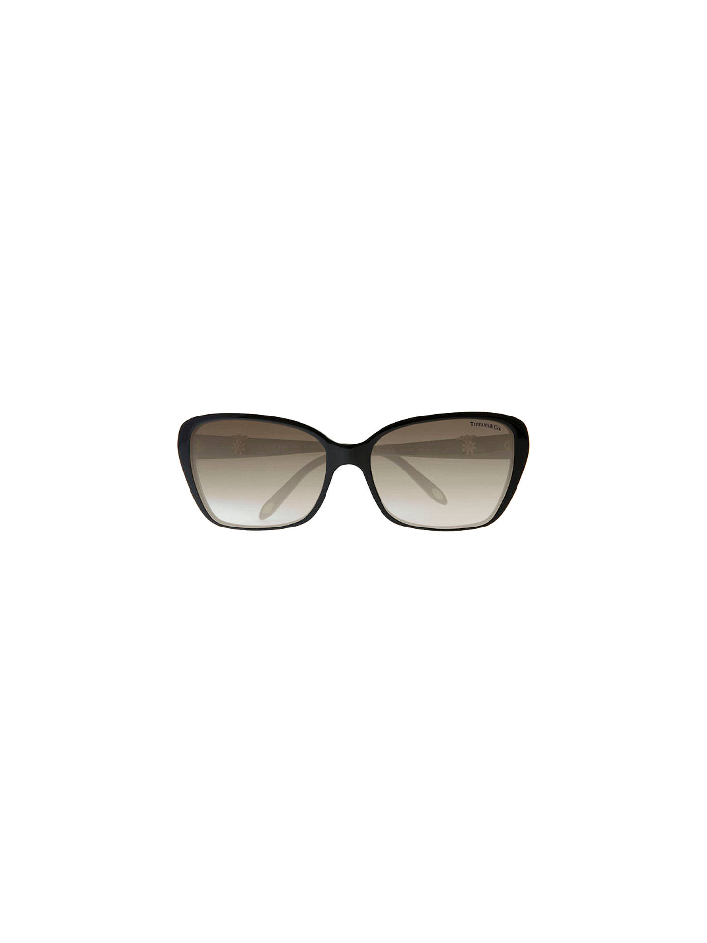 920de450d042 ... Buy Tiffany & Co TF4096B Multi Daisy Sunglasses, Black Online at  johnlewis. ...