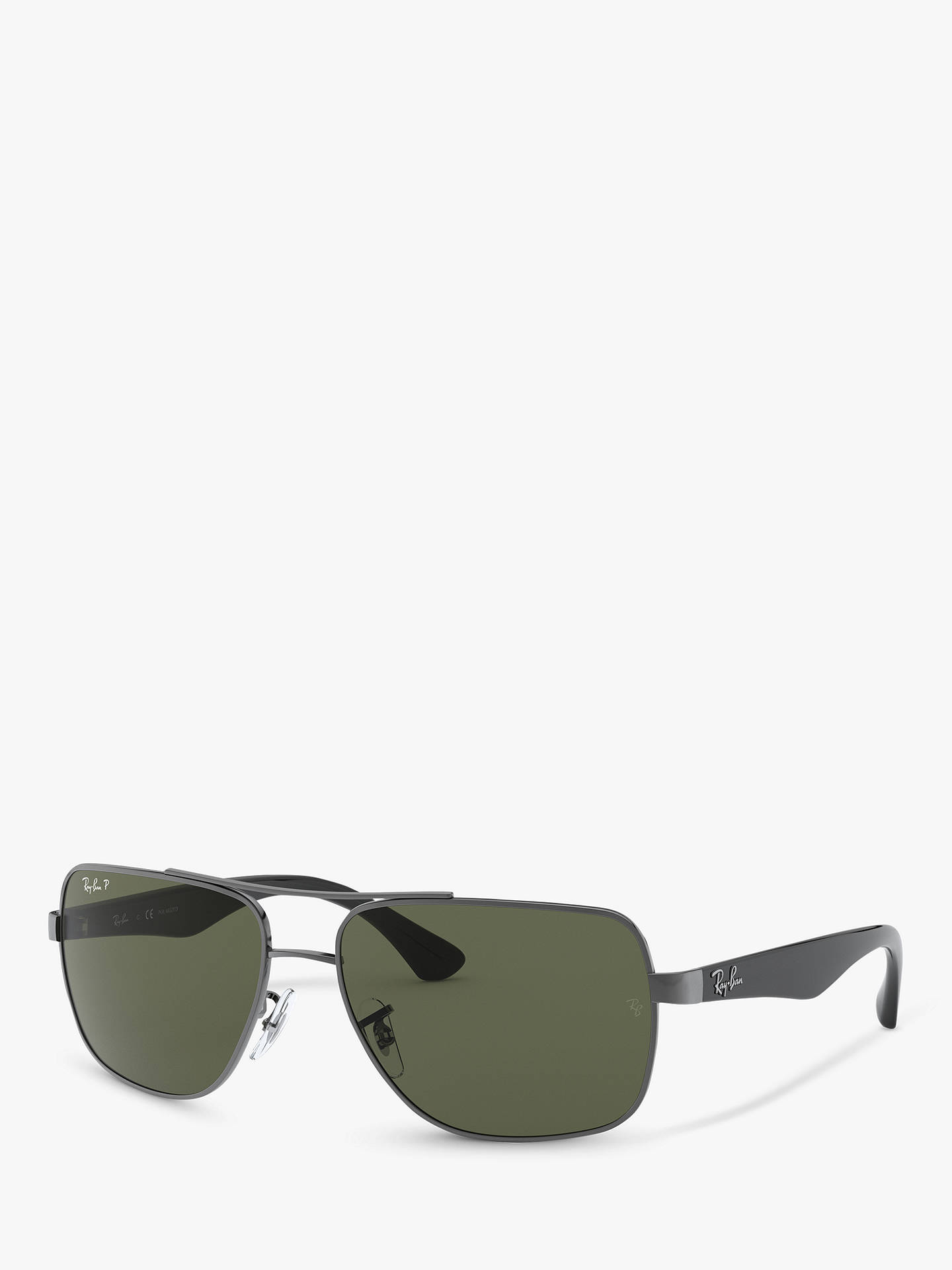 d312aaee1e BuyRay-Ban RB3483 Highstreet Polarised Square Sunglasses
