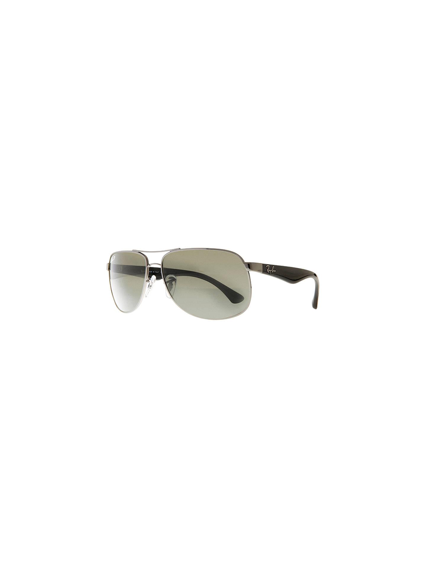 f5ed46569283b Ray-Ban RB3502 Polarised Active Lifestyle Aviator Sunglasses at John ...