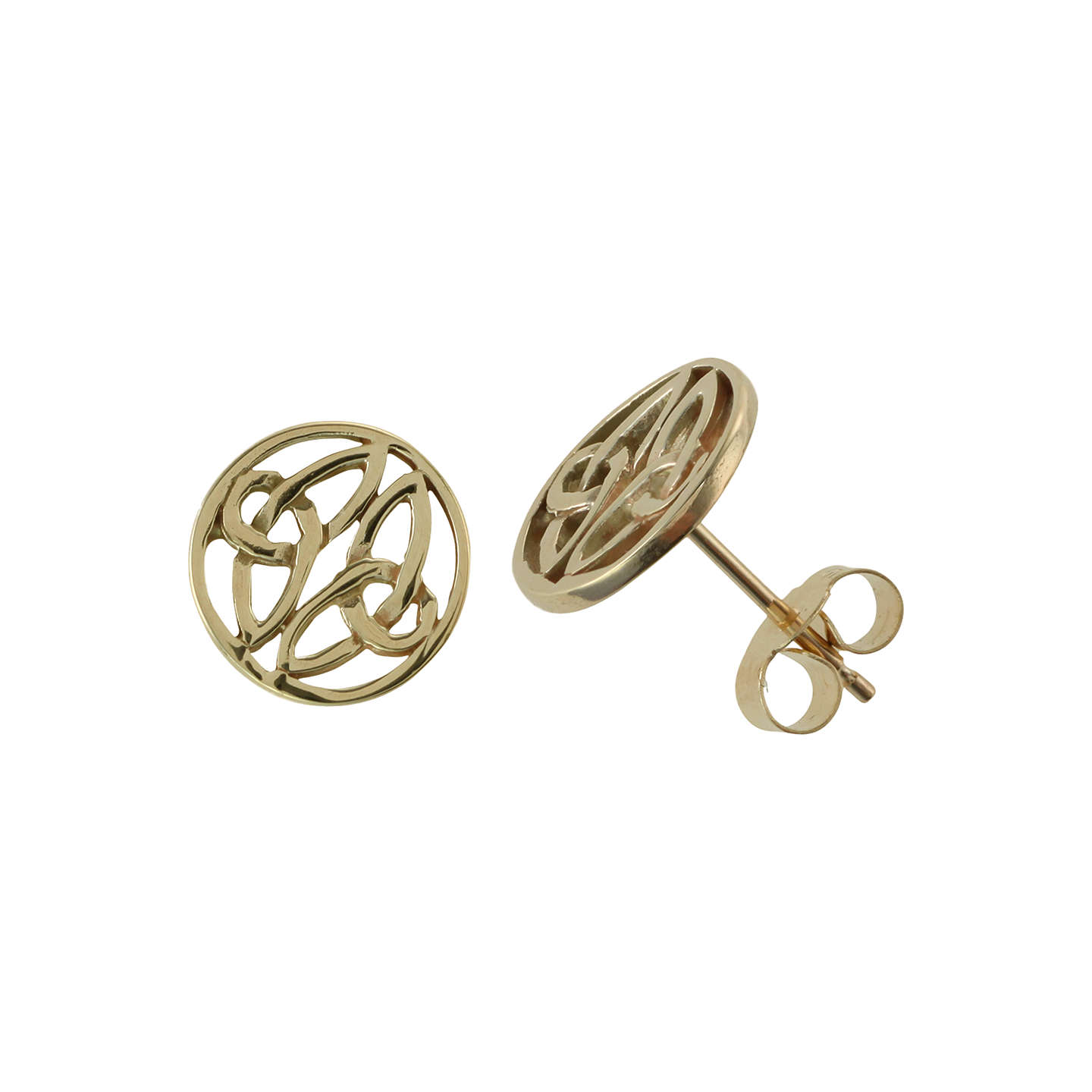 celtic small earrings products native eternity knot by in drop liwu gold jewelry