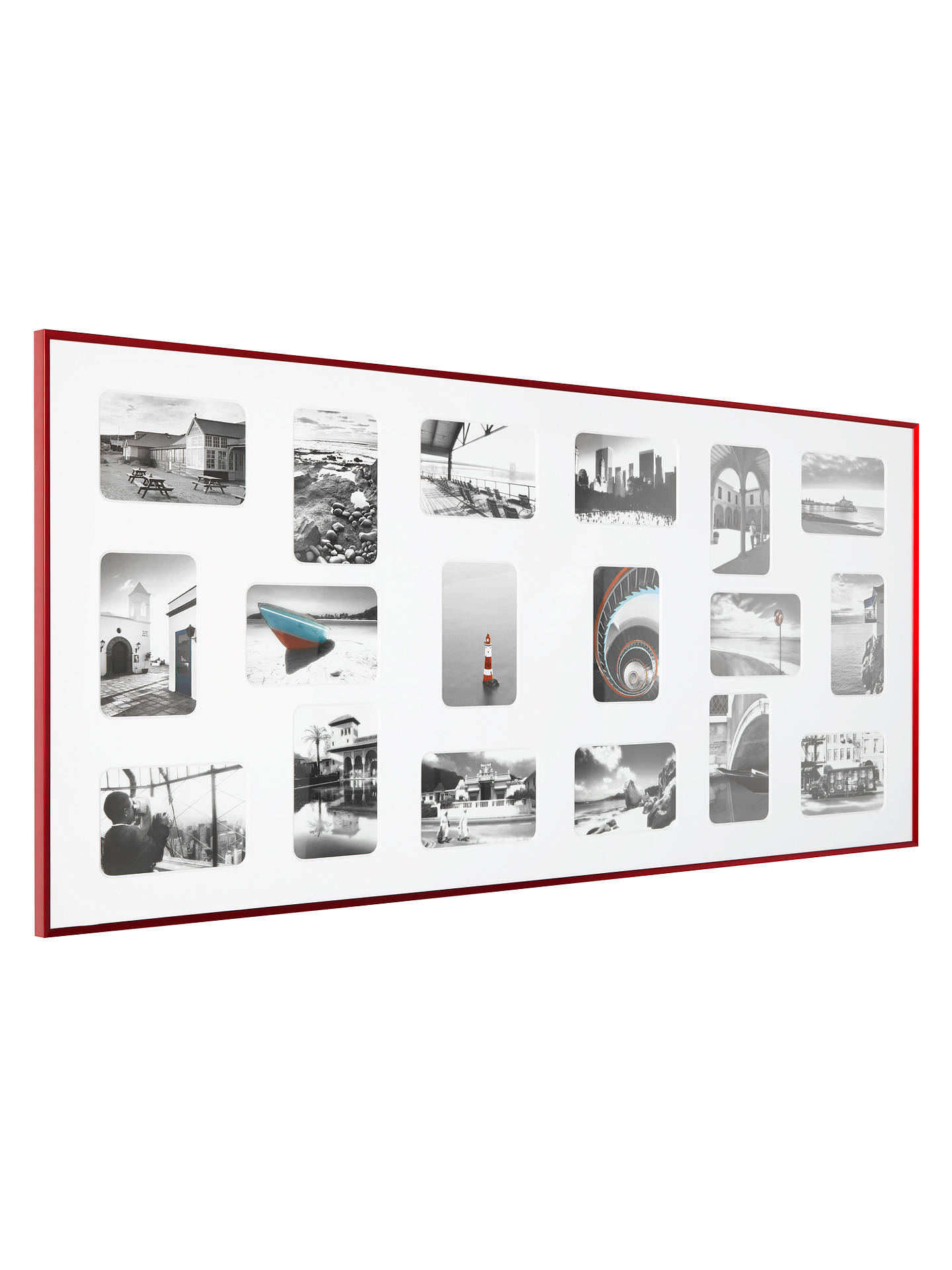 Nielsen Pixel Collage Multi-aperture Frame, 18 Photo, 4 x 6\