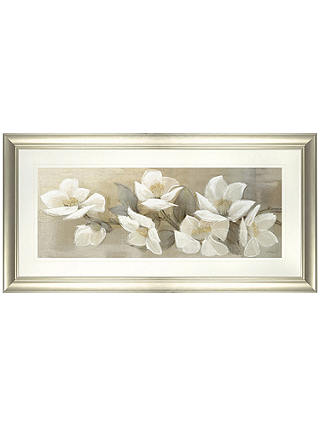 Buy Adelene Fletcher - Linen Cascade Framed Print, 55 x 105cm Online at johnlewis.com