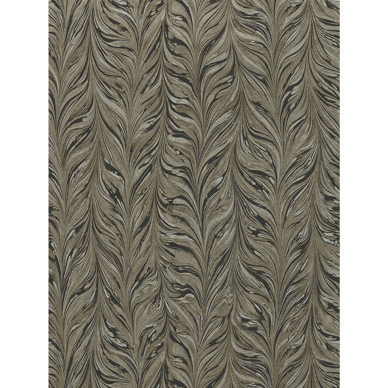 Zoffany Ebru Wallpaper Charcoal 311010 At John Lewis