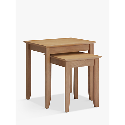 John Lewis & Partners Alba Nest of 2 Tables