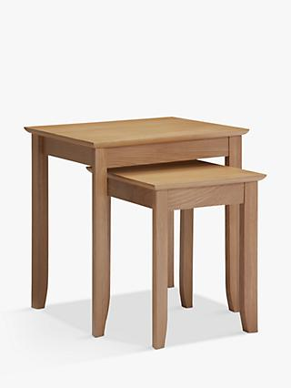 John Lewis Partners Alba Nest Of 2 Tables