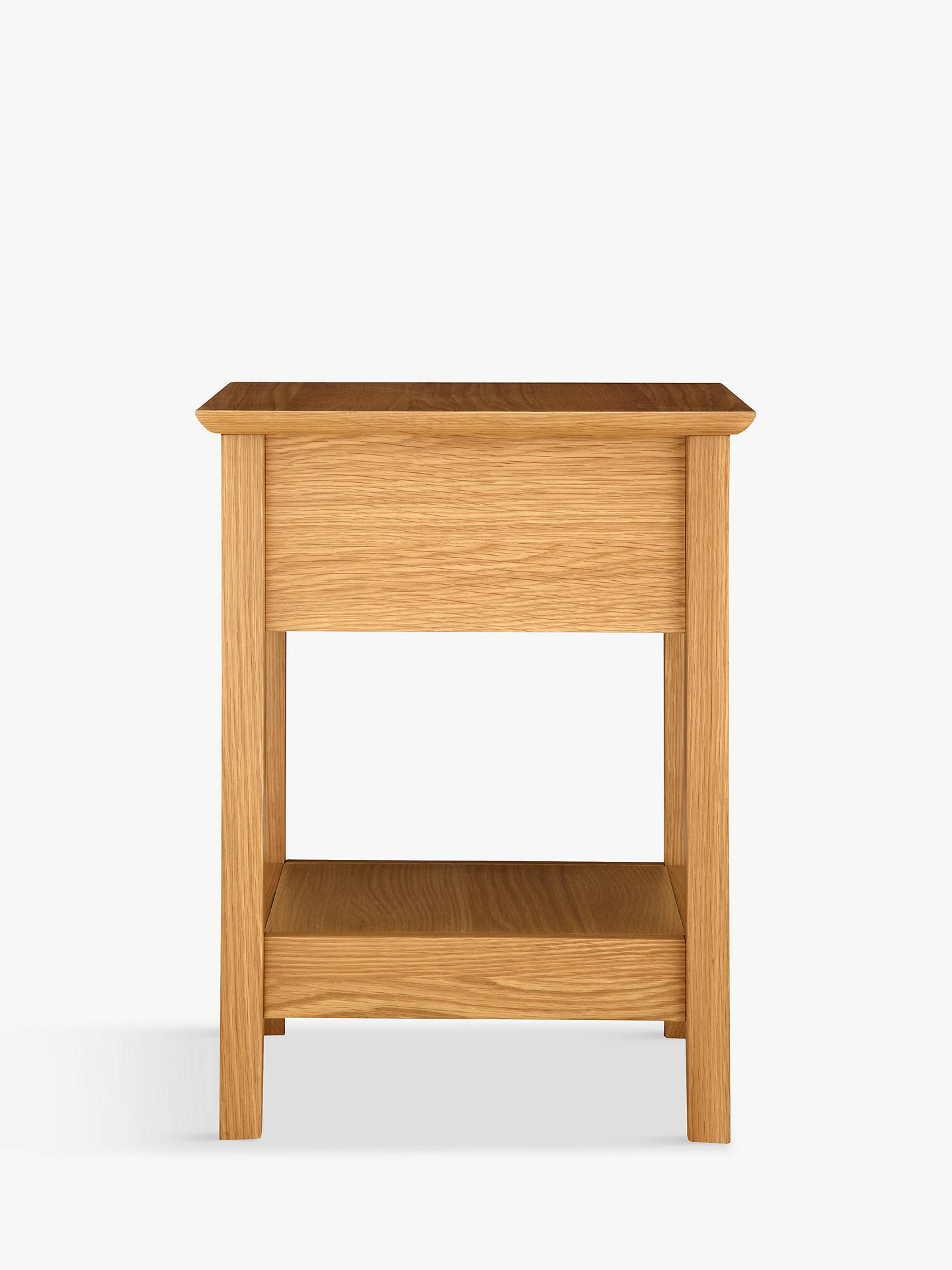 Buy John Lewis & Partners Alba Lamp Table, Oak Online at johnlewis.com
