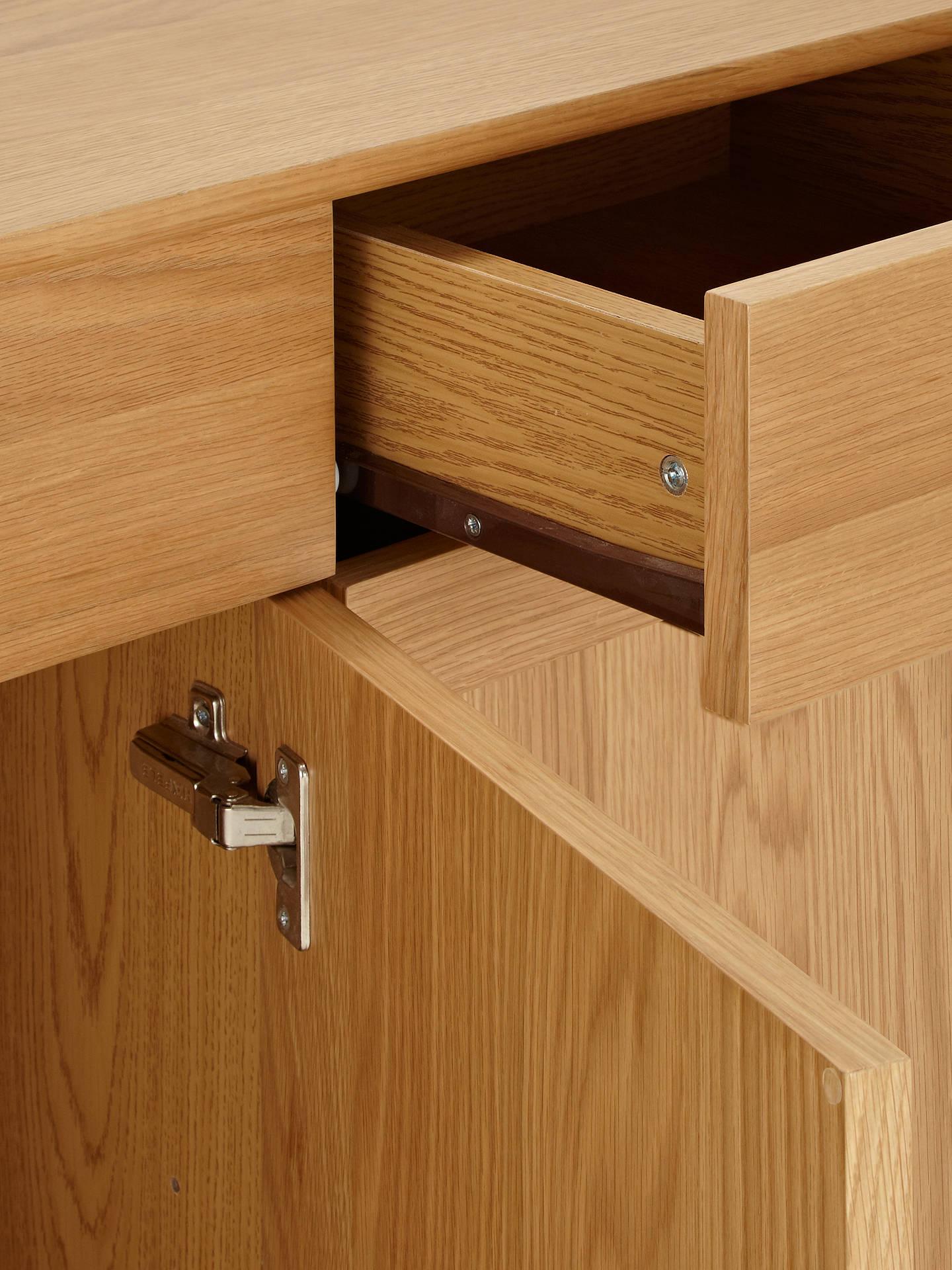 buy online a9517 97b21 John Lewis & Partners Alba Wide Sideboard, Oak