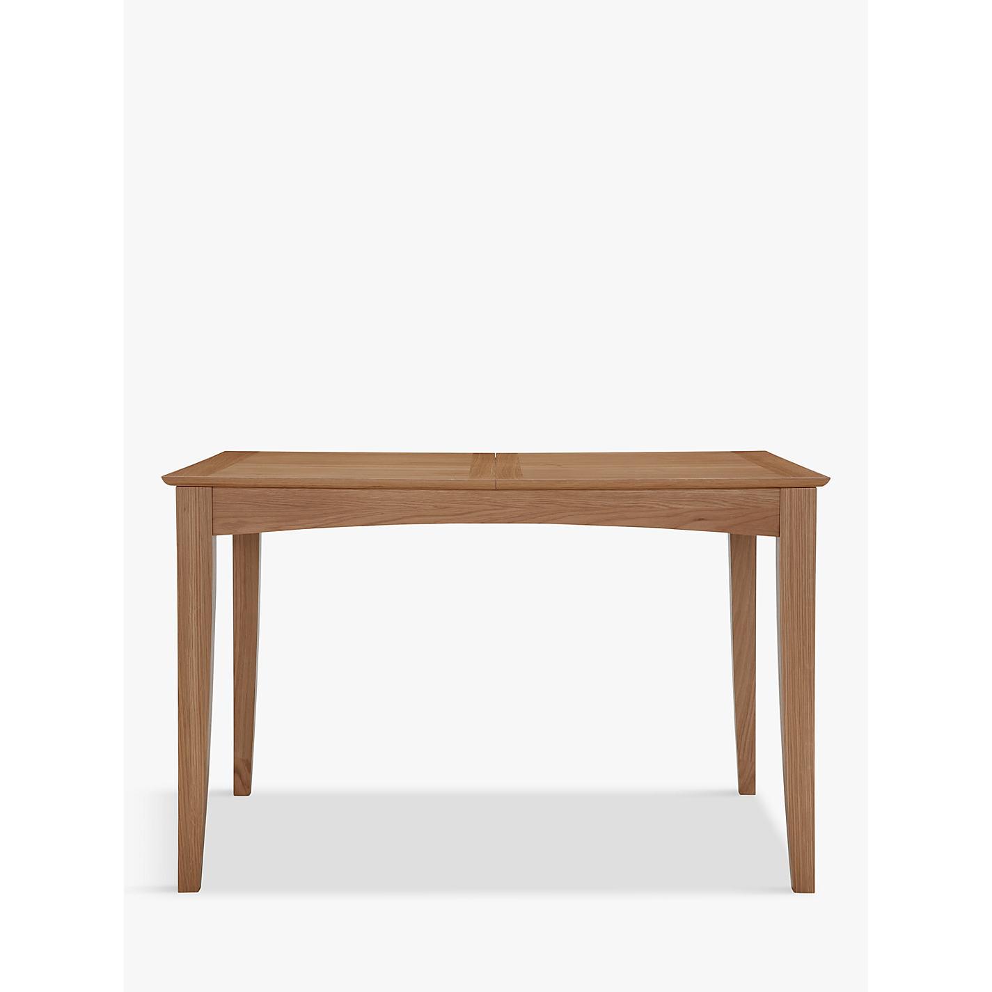 Folding side table john lewis -  Buy John Lewis Alba 4 6 Seater Extending Dining Table Online At Johnlewis Com