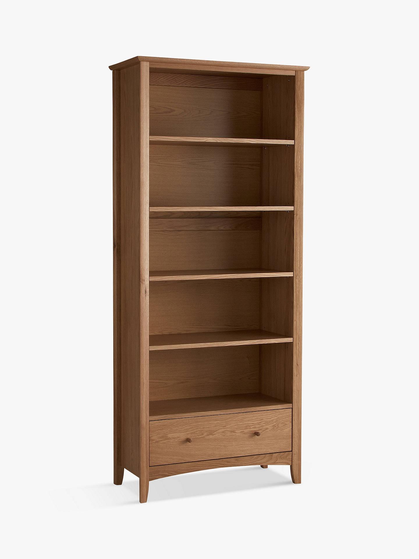 John Lewis Partners Alba Bookcase Oak