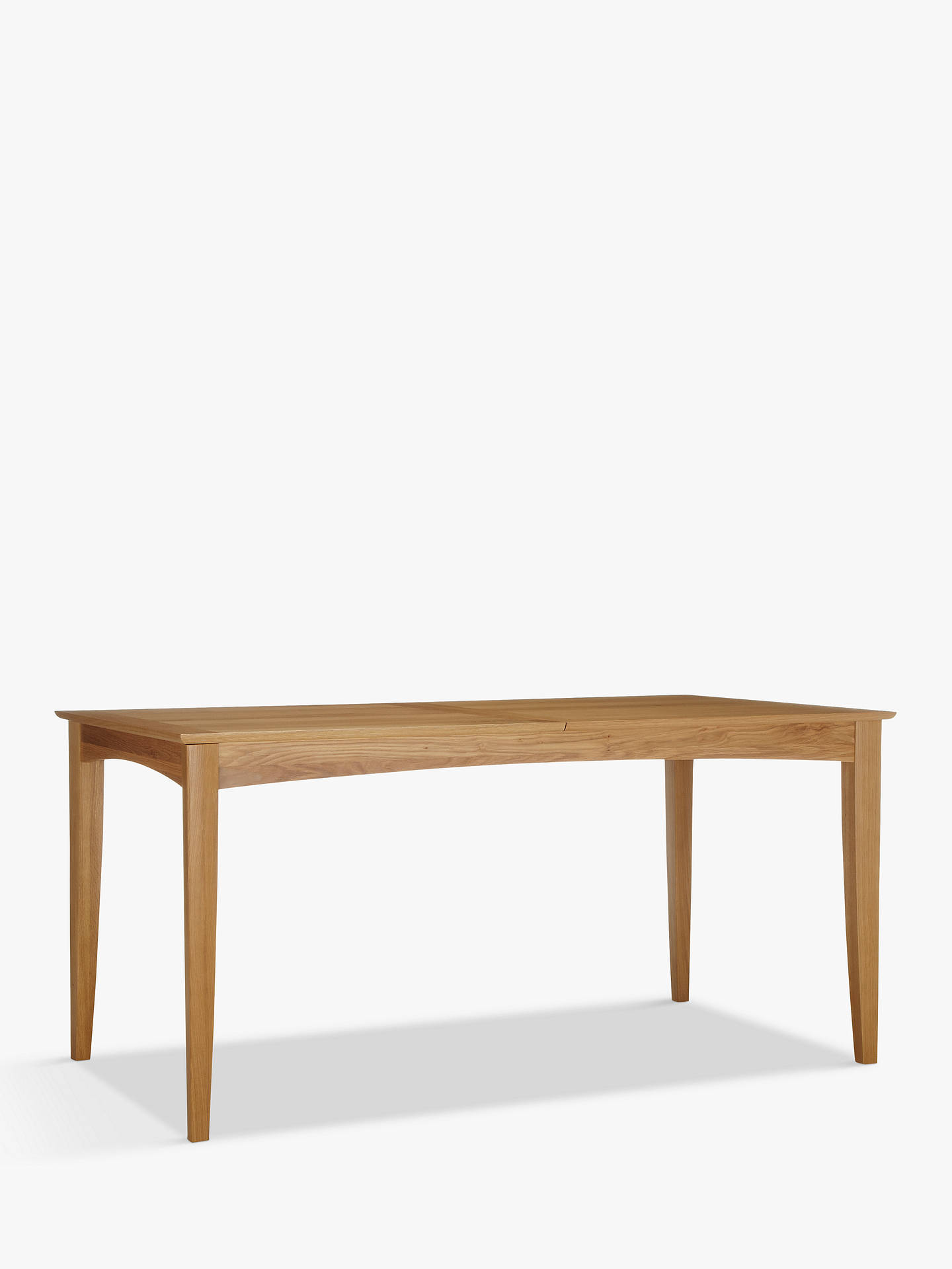 Buy John Lewis & Partners Alba 6-8 Seater Extending Dining Table, Oak Online at johnlewis.com