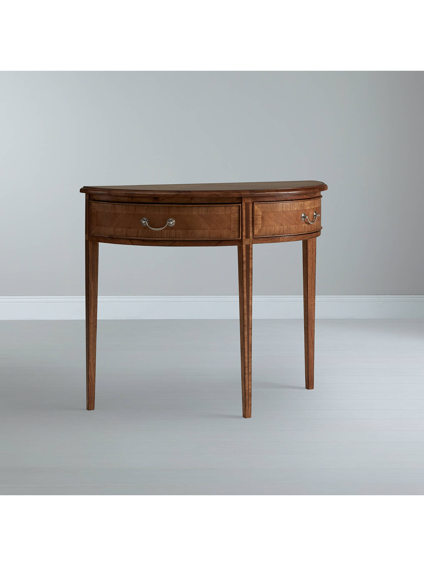 John Lewis Cameo Demi Lune Console Table Online At Johnlewis