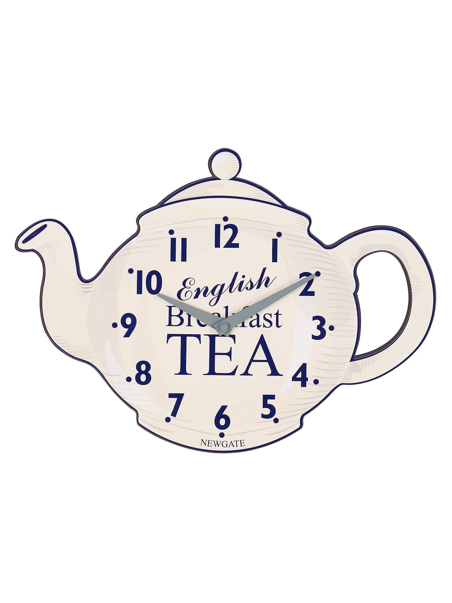Newgate Teapot Wall Clock H275 X W385 X D45cm At John Lewis