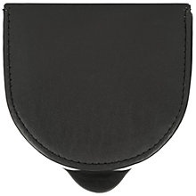 Buy John Lewis Leather Coin Purse, Black Online at johnlewis.com
