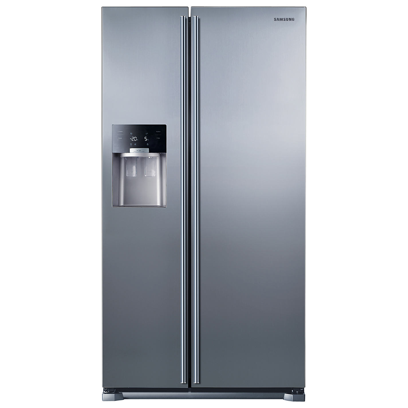 American Fridge Freezer Part - 50: Buy Samsung RS7567BHCSL American Style Fridge Freezer, Clean Steel Online  At Johnlewis.com ...