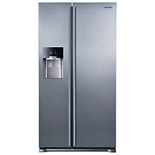 Buy Samsung RS7567BHCSL American Style Fridge Freezer, Clean Steel Online at johnlewis.com