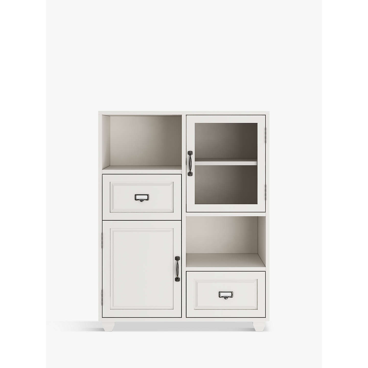 Free Standing Kitchen Cabinets John Lewis: John Lewis Apothecary Double Towel Cupboard At John Lewis