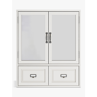 John Lewis & Partners Apothecary Double Mirrored Bathroom Cabinet