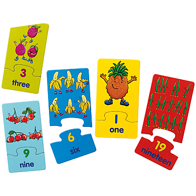Image of John Lewis & Partners Fruit and Veg Match and Count Game