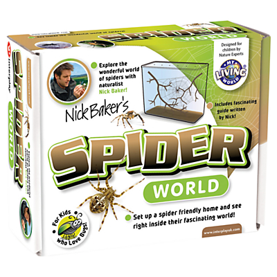 Image of My Living World Nick Baker's Spider World