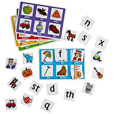 John Lewis Alphabet and Picture Matching Game
