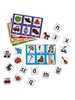 John Lewis & Partners Alphabet and Picture Matching Game