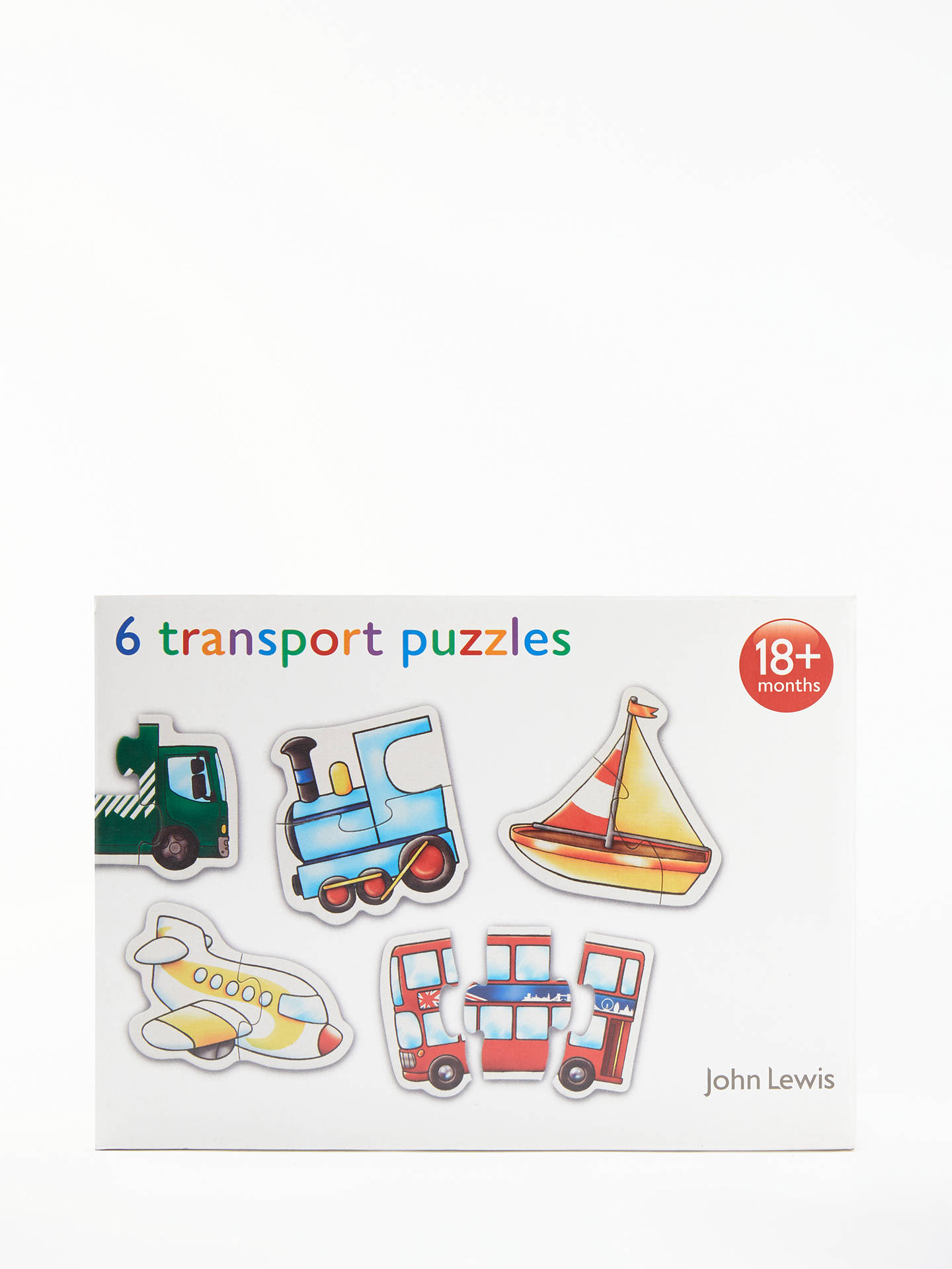 BuyJohn Lewis & Partners My First Vehicles Puzzle Online at johnlewis.com