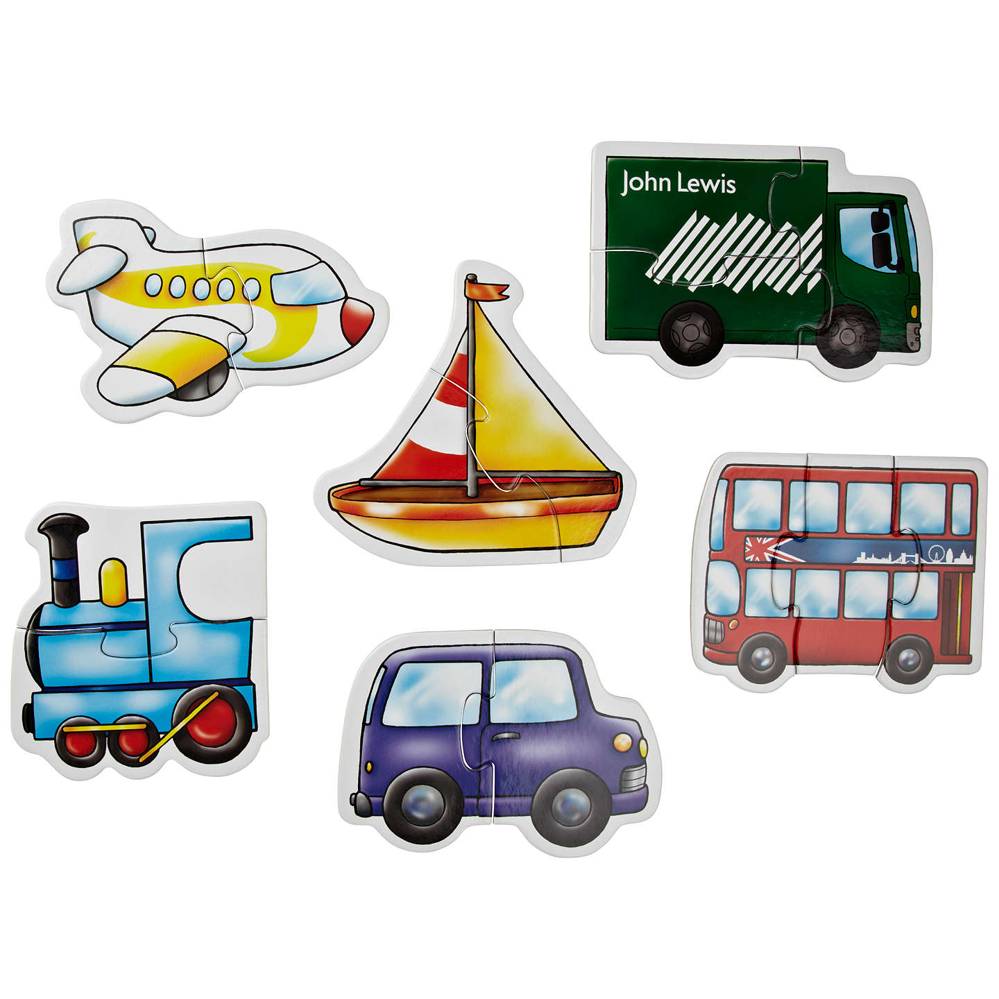 BuyJohn Lewis My First Vehicles Puzzle Online at johnlewis.com