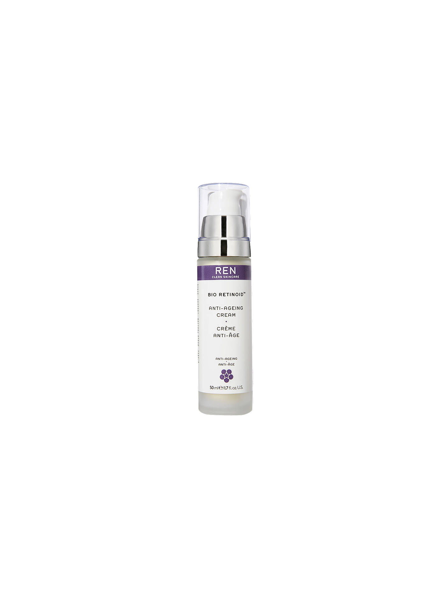 Buy REN Clean Skincare Bio Retinoid Anti-Ageing Cream, 50ml Online at johnlewis.com