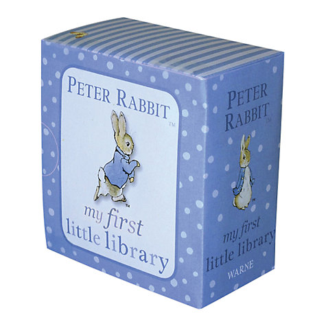 Beatrix potter easter toys gifts john lewis buy beatrix potter peter rabbit my first little library online at johnlewis negle Choice Image