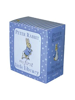 Beatrix Potter Peter Rabbit My First Little Library