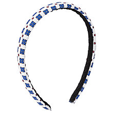 Buy St John's Priory Girls' Hairband, Multi Online at johnlewis.com