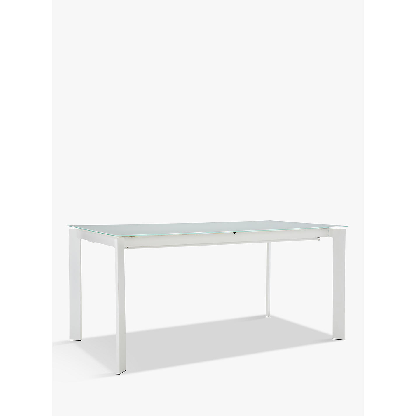 Buy John Lewis Odyssey 6 10 Seater Glass Top Extending Dining Table Online At Johnlewis